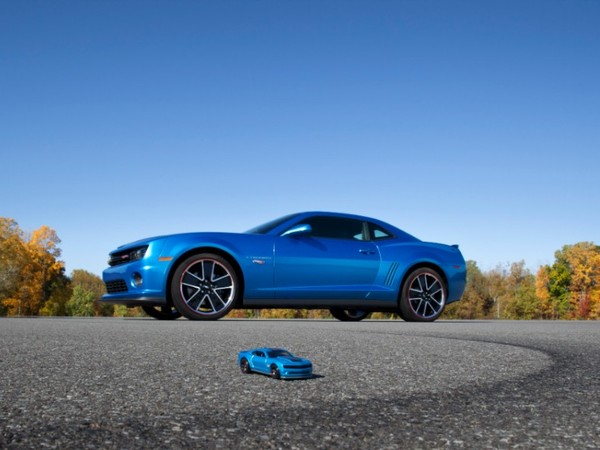 SEMA Show 2012 : Chevrolet commercialise une vraie Camaro Hot Wheels