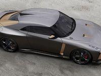 Nissan et Italdesign dévoilent un prototype: la GT-R50