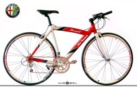 Stradale et Cross : les vélos d'Alfa Roméo
