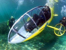 Un ingénieur français développe un sous-marin à pédales