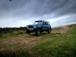 Top Gear : Richard Hammond à l'entraînement pour le Dakar
