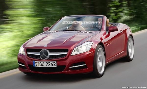 Future Mercedes SLK: comme ça?