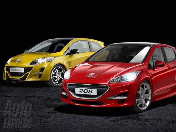 Futures Peugeot 208 GTI et Renault Clio Sport: on prépare le match...