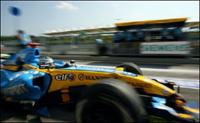 Fernando Alonso comme dans un fauteuil