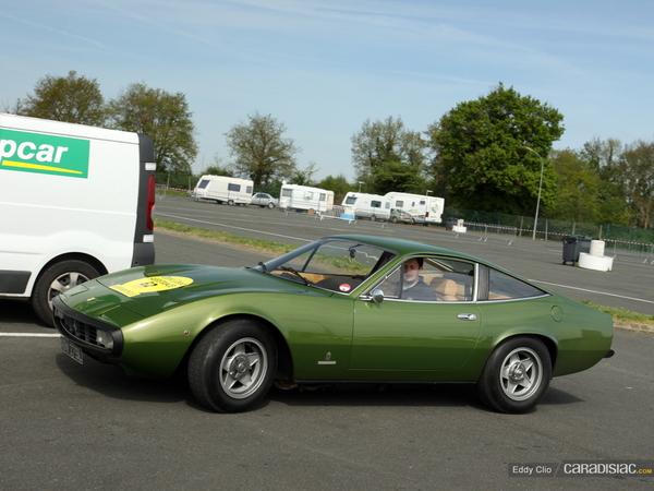 Photos du jour : Ferrari 365 (Tour Auto)
