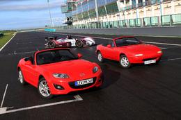 Le MX-5 fêtera ses 20 ans aux 24 Heures du Mans