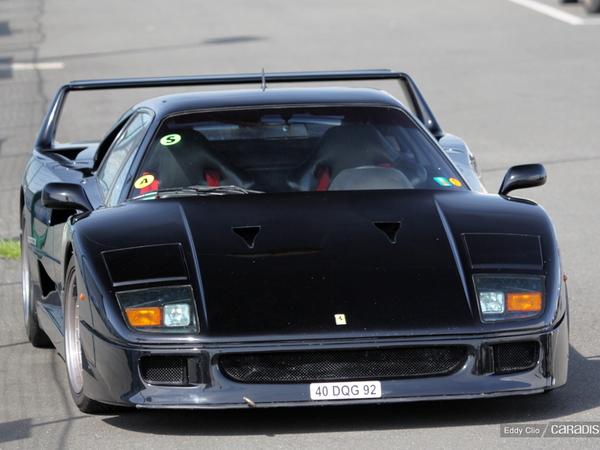 Photos du jour : Ferrari F40 (Tour Auto)