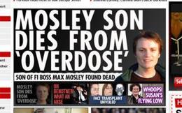 Le fils de Max Mosley retrouvé mort à son domicile