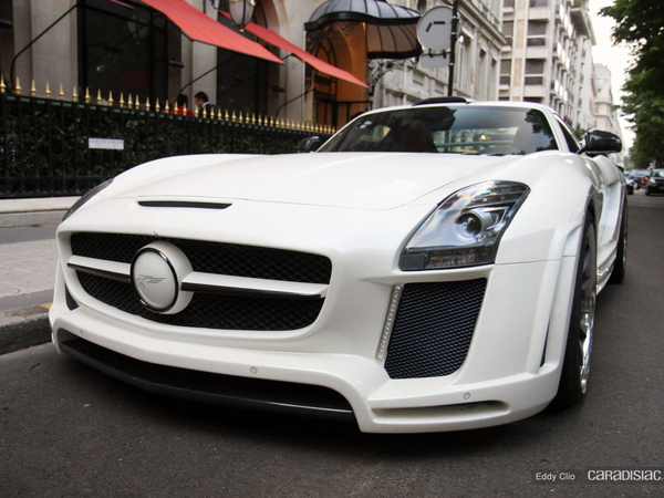Photos du jour : Mercedes SLS AMG by Fab Design