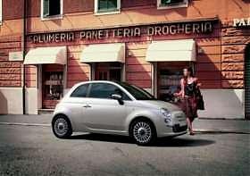 Fiat 500 : voiture de l'année 2008 !