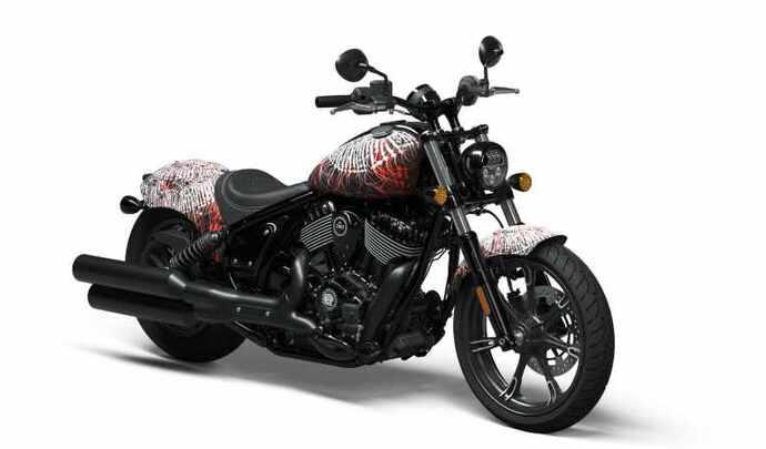 Indian Motorcycle présente la Chief sauce Mayonaize