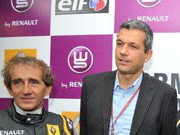 Grand Prix de France F1  2013 : Alain Prost en soutien