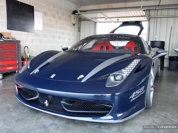 Photos du jour : Ferrari 458 Challenge (Sport & Collection)