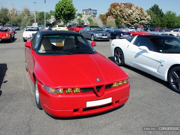 Photos du jour : Alfa Romeo SZ