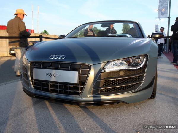 Photos du jour : Audi R8 GT Spyder (Le Mans)