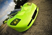 Salon de Los Angeles : Mosler MT900 GTR verte fluo