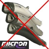 Micron disparait du paysage motocycliste