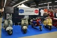 Salon Moto Légende En Direct : Le Club de France Lambretta expose