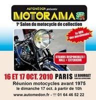Salon Automédon les 16 et 17 octobre 2010 : les side-cars à l'honneur.