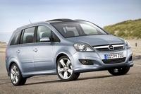 Future Opel Zafira Phase 2 : sortez vos loupes !
