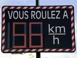 Sécurité Routière : 600 radars pédagogiques de plus en 2013