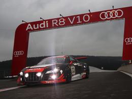 Audi inscrit son nom au palmarès des 24 Heures de Spa