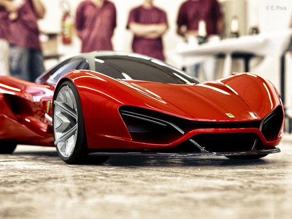 Ferrari Xezri et EGO concepts