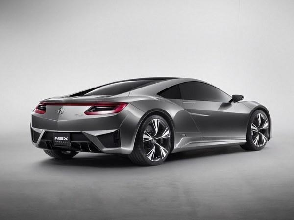 Honda : le prototype de la prochaine NSX à Goodwood