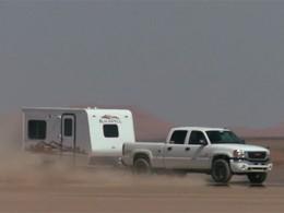 Insolite : un nouveau record de vitesse en tractant une caravane