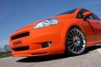 Fiat Grande Punto 1.9JTD by Novitec Sports : drôle de citrouille !