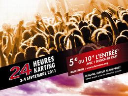 Rendez-vous aux 24 Heures du Mans Karting les 3 et 4 septembre 2011