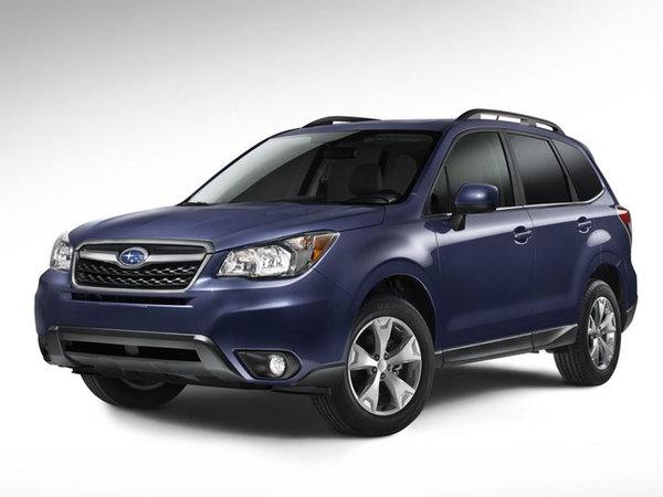Nouveau Subaru Forester: le voici