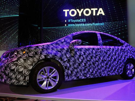 Voiture connectée: Toyota investit sur la recherche américaine