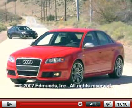 Vidéo : Lexus IS-F vs Audi RS4, 2eme round