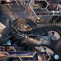 Salon de Los Angeles : la Volkswagen Concept Slipstream gagne le Design Challenge 2008