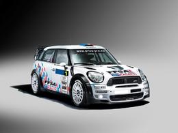 Campana en WRC sur une Mini en Allemagne et en France!