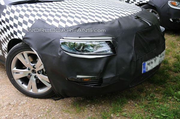 Future Saab 9-5: on la voit (un peu) mieux