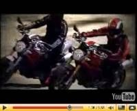 Vidéo Moto : Ducati 1100 Monster 2009, film promotionnel