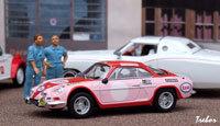 Miniature : 1/43ème - Alpine A110 1600S