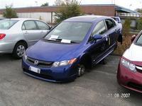 Une Honda Civic Si Mügen vandalisée