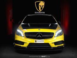 Mercedes Classe A45 AMG RevoZport Mulgari, citron pressé