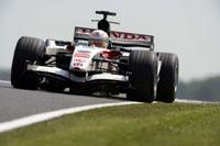 L'écurie Honda Racing au travail à Monza