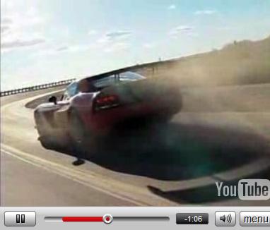 Vidéo: Dodge Viper SRT10 ACR: 600 ch et du son !