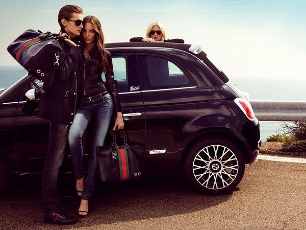 La Fiat 500C s'habille elle aussi en Gucci