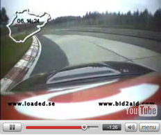 Vidéo : BMW M3 CSL by Loaded sur le Ring' : 7'22''85'''