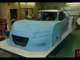 Super GT - Une Honda CR-Z en préparation
