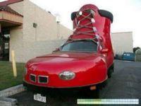 Si vous conduisez comme un pied, roulez en chaussure !