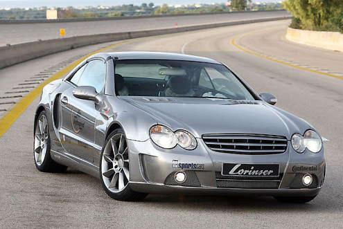 Lorinser Mercedes SL Nardo 3: étoile filante