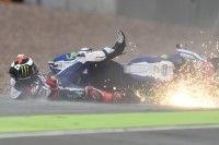 MotoGP - Allemagne Qualifications : trois chutes en deux jours pour Lorenzo