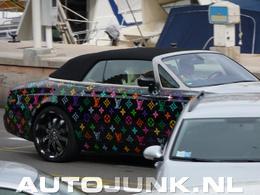 Rolls Royce top bling bling?